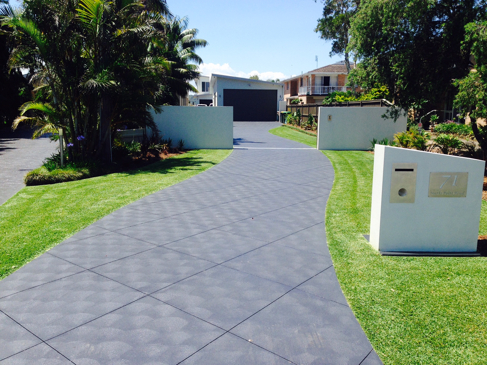 Driveway Concreting in Newcastle and Surrounds